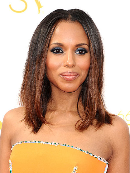 Emmys 2014: Best Beauty Looks: Kerry Washington