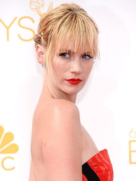 Emmys 2014: Best Beauty Looks: January Jones