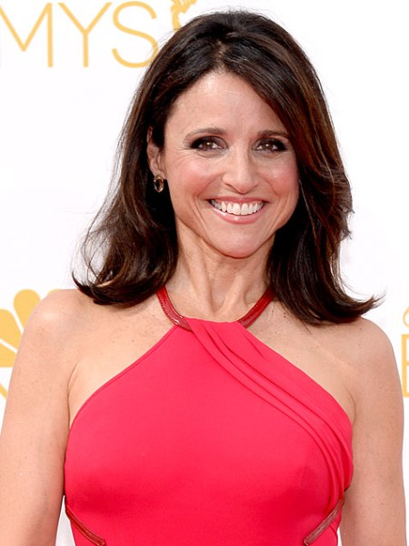 Emmys 2014: Best Beauty Looks: Julia Louis Dreyfuss