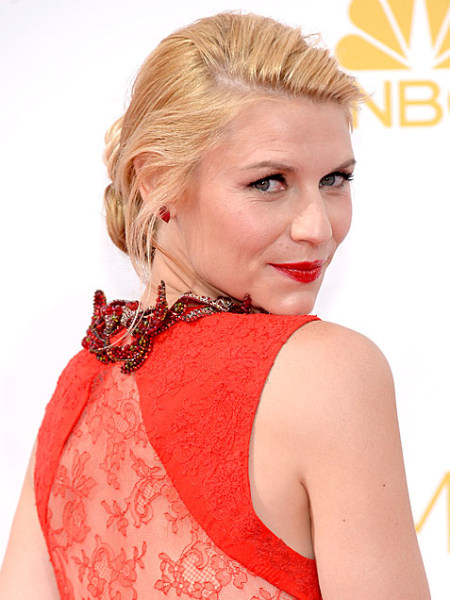 Emmys 2014: Best Beauty Looks: Claire Danes