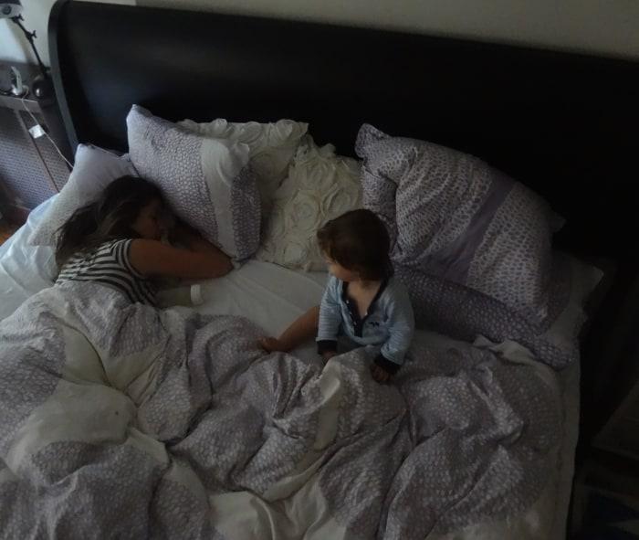 Baby Jensen, Sitting Up