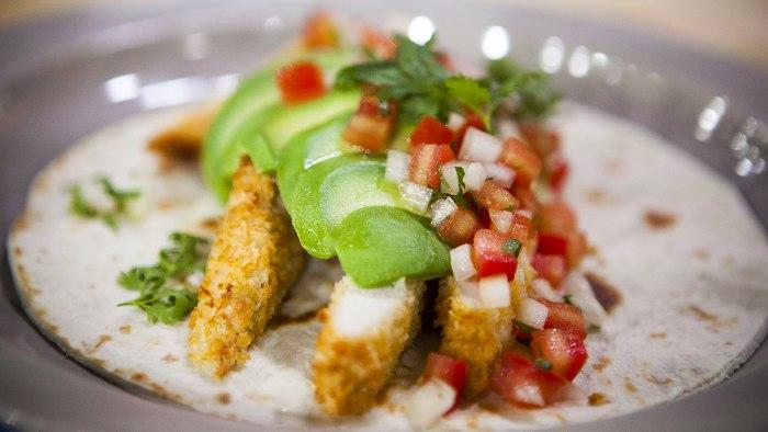 Martha Stewart's chicken tacos