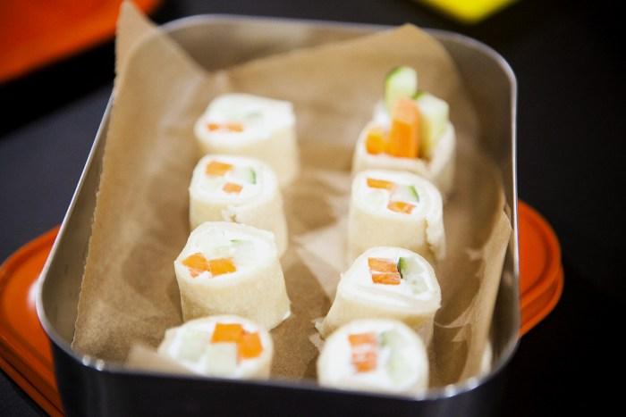 Martha Stewart's sushi surprise