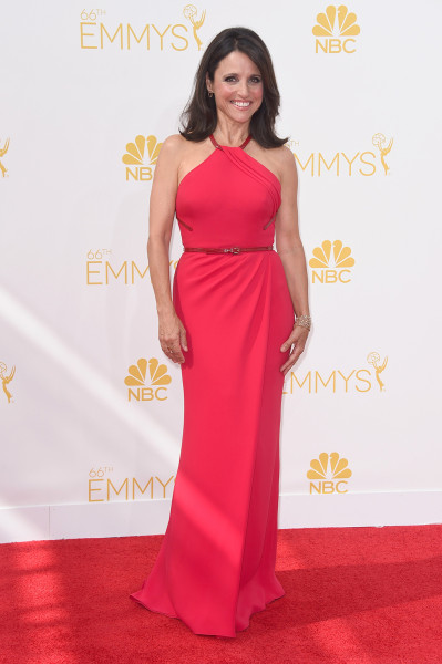 LOS ANGELES, CA - AUGUST 25:  Actress Julia Louis-Dreyfus attends the 66th Annual Primetime Emmy Awards held at Nokia Theatre L.A. Live on August 25, ...