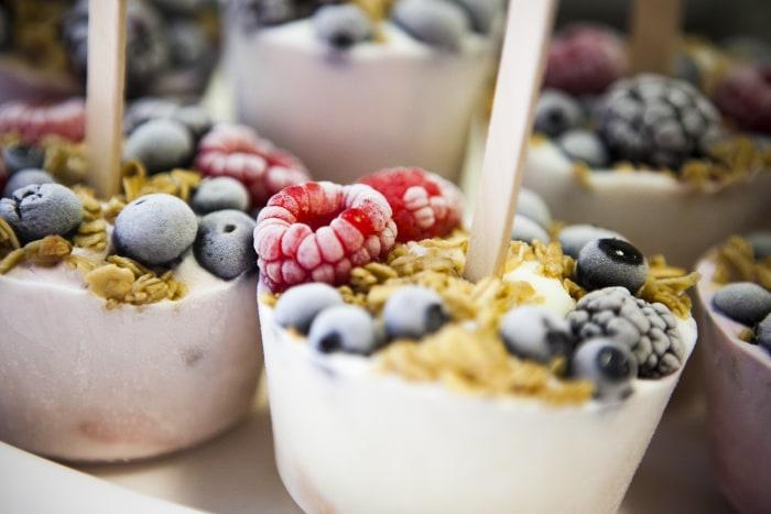 Martha Stewart's yogurt on a stick