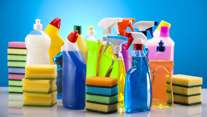 Cleaning supplies; Shutterstock ID 125653256; PO: TODAY.com