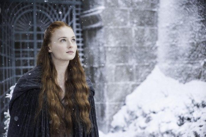 """Sophie Turner as Sansa Stark on """"Game of Thrones"""""""
