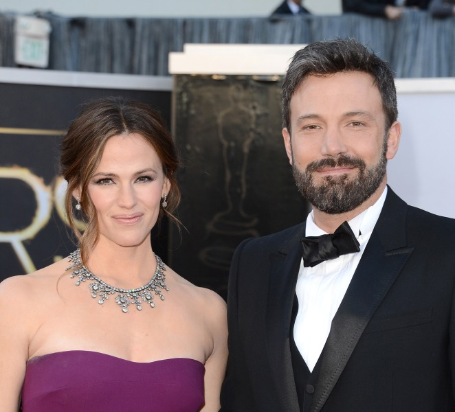 Image: Jennifer Garner and Ben Affleck in February 2014