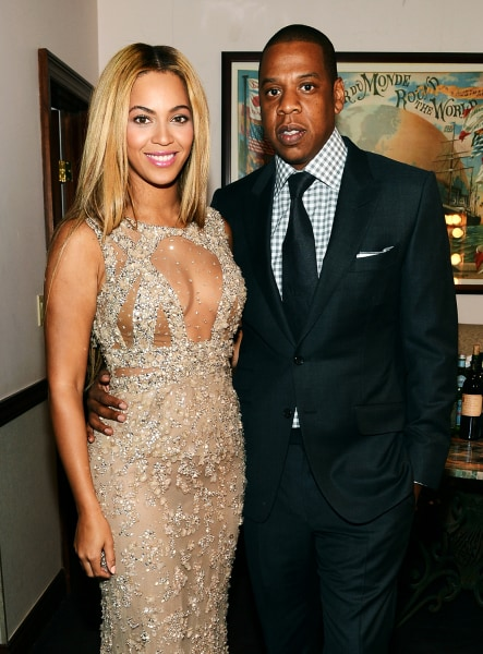 Image: Beyonce and Jay Z