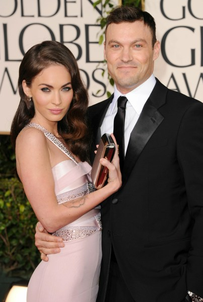Image: Megan Fox and Brian Austin Green