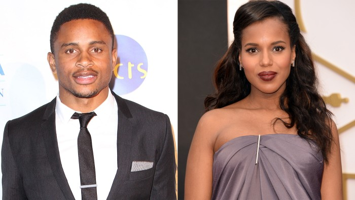 Image: Nnamdi Asomugha and Kerry Washington