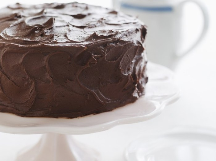 Gluten-Free Chocolate Birthday Cake with Chocolate Frosting