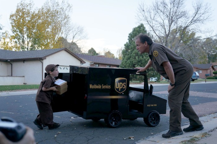 Ups Wishes Delivered Campaign Gives A Little Boy A Child