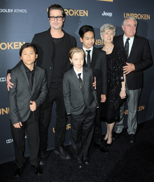 Jolie Pitt Kids Shiloh 2014