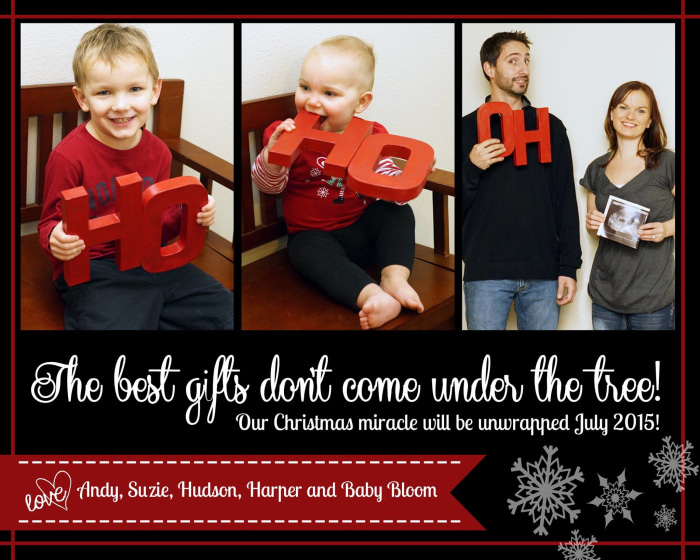 15 of the cutest holidaythemed pregnancy announcements TODAY – Cute Christmas Baby Announcements