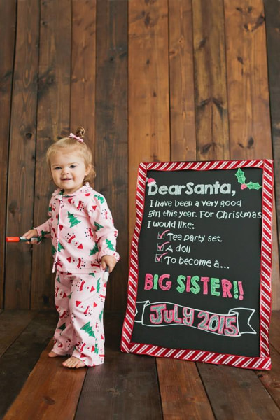 15 of the cutest holidaythemed pregnancy announcements TODAY – Christmas Baby Pregnancy Announcement