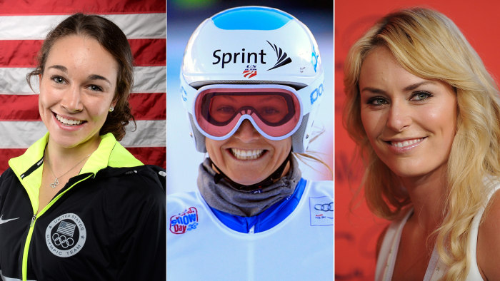 Olympians Hendrickson, Mancuso, Vonn weigh in on what it's like to compete after injury.