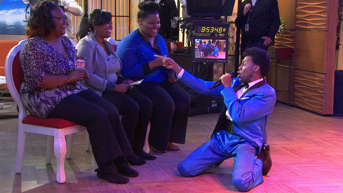 Singers from Motown the Musical perform on TODAY.