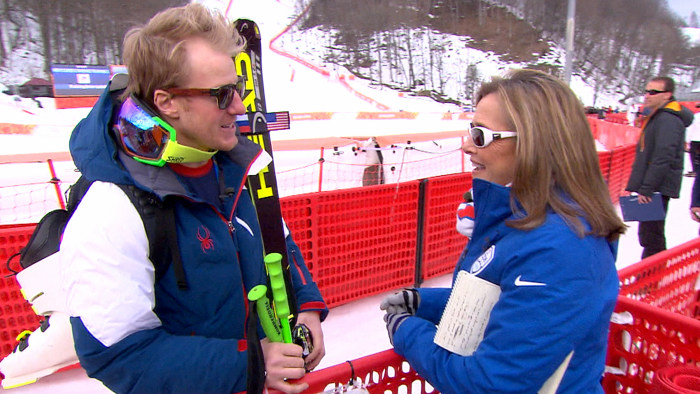 Ted Ligety, alpine ski racer from the United States.