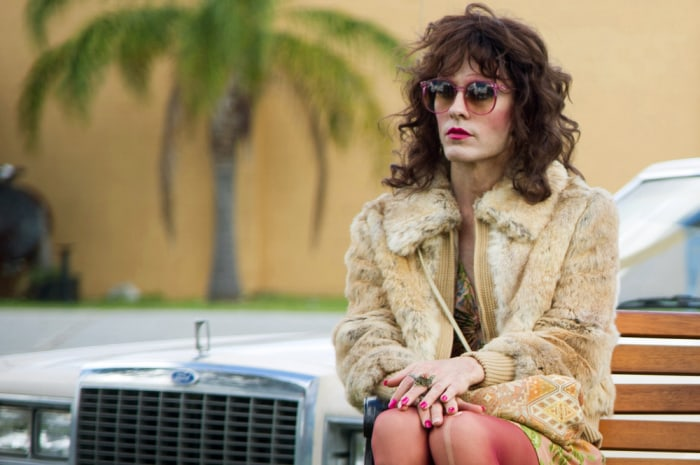 "Image: Jared Leto as Rayon in a scene from ""Dallas Buyers Club."""