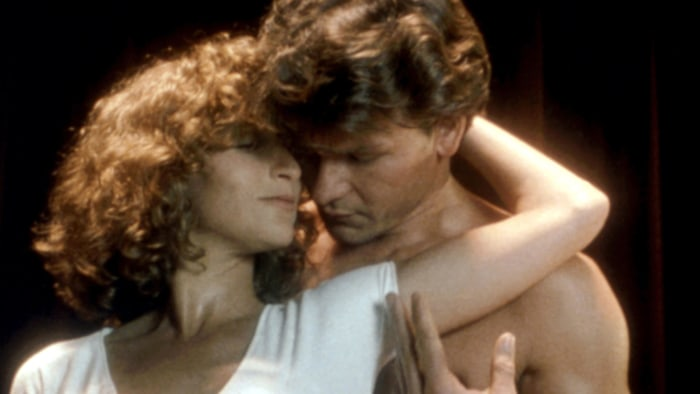 DIRTY DANCING, Jennifer Grey, Patrick Swayze, 1987, (c)Vestron Pictures/courtesy Everett Collection