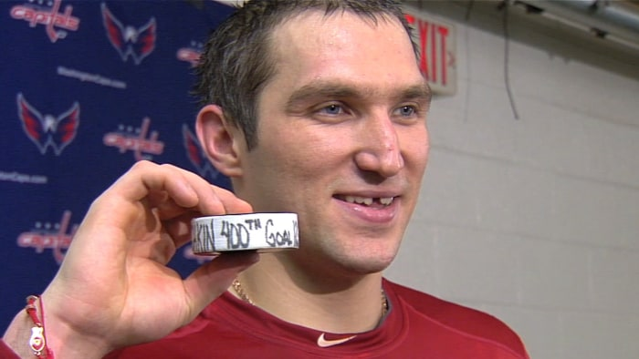 Alex Ovechkin said he hopes for an Olympic gold and the Stanley Cup, all in the same year.