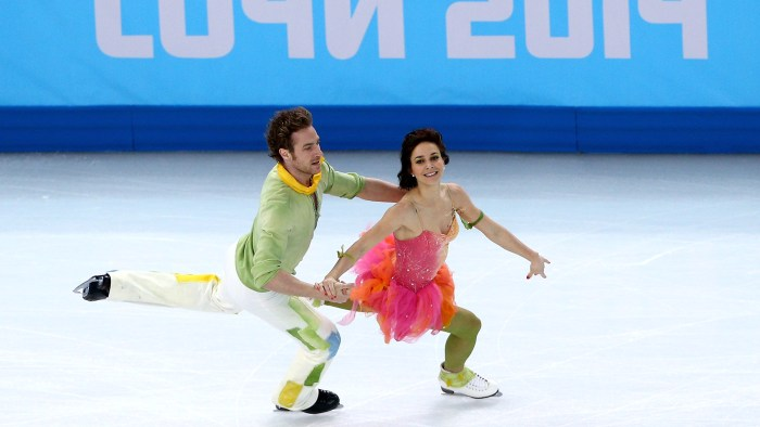 Image: Nathalie Pechalat and Fabian Bourzat