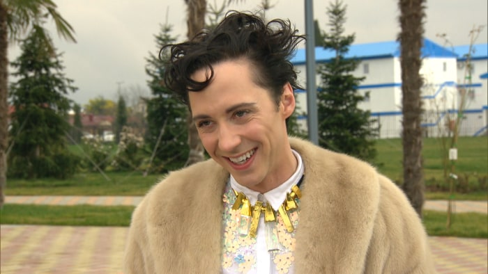 Johnny Weir talked to Billy Bush about his experience during the Sochi Games.
