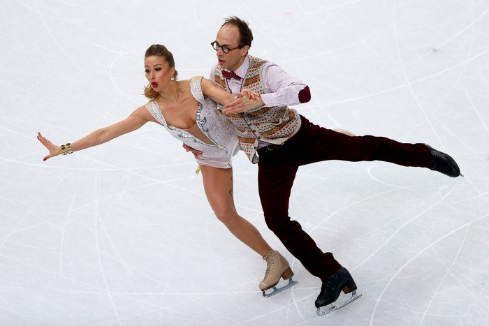 Image: Germany's Nelli Zhiganshina and Alexander Gazsi