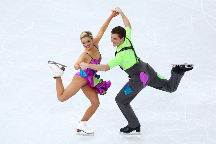 Image: Danielle O'Brien and Gregory Merriman of Australia