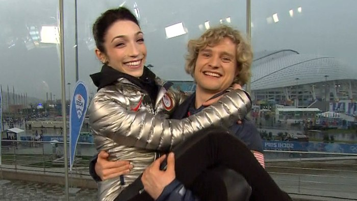 Meryl Davis and Chalie White on TODAY