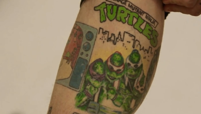 Image: Vanilla Ice tattoo