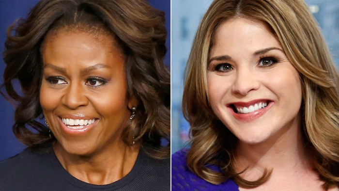 Michelle Obama will talk to Jenna Bush Hager for an upcoming TODAY series.