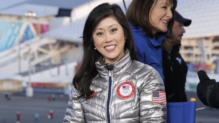 TODAY -- Pictured: Kristi Yamaguchi from the 2014 Olympics in Socci -- (Photo by: Joe Scarnici/NBC/NBC NewsWire via Getty Images)