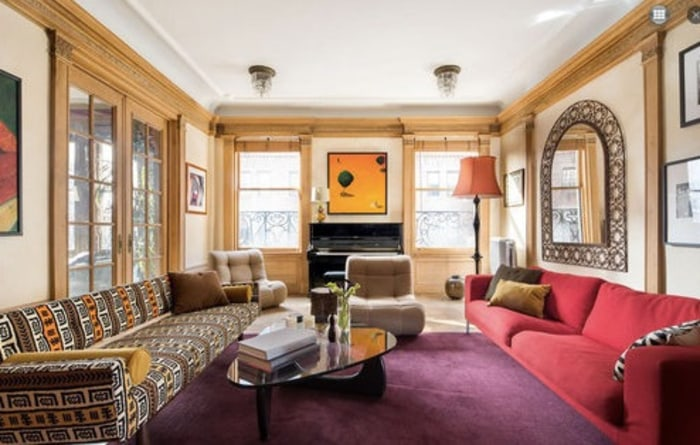 Holly Hunter is listing her Greenwich Village apartment in a 1905 Beaux Arts building for $8.7 million.