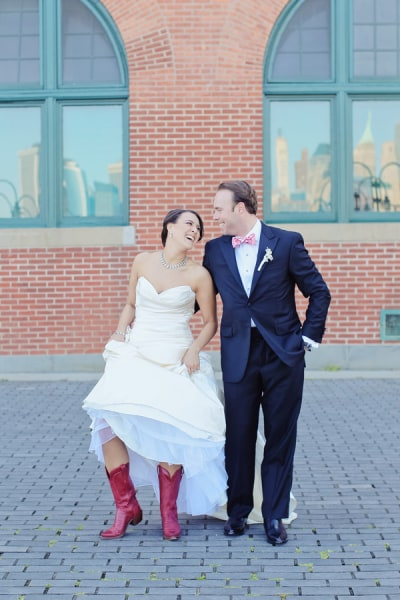 Mass and Sattler real wedding
