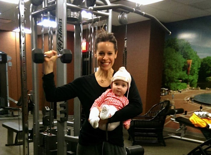 Torture for Jenna Wolfe = Not being able to work out. Her journey back to fitness after having a baby has been challenging, she writes.