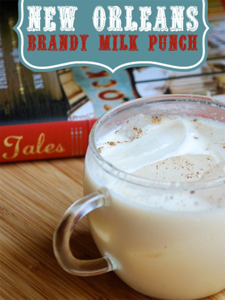 New Orleans Brandy Milk Punch