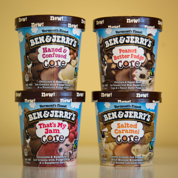 Ben & Jerry's newest flavors