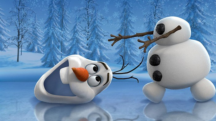 """IMAGE: Olaf the snowman from """"Frozen"""""""