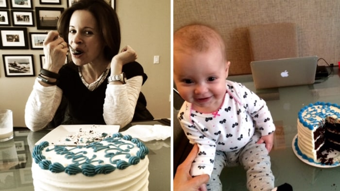 Jenna Wolfe and her baby girl, Harper Estelle