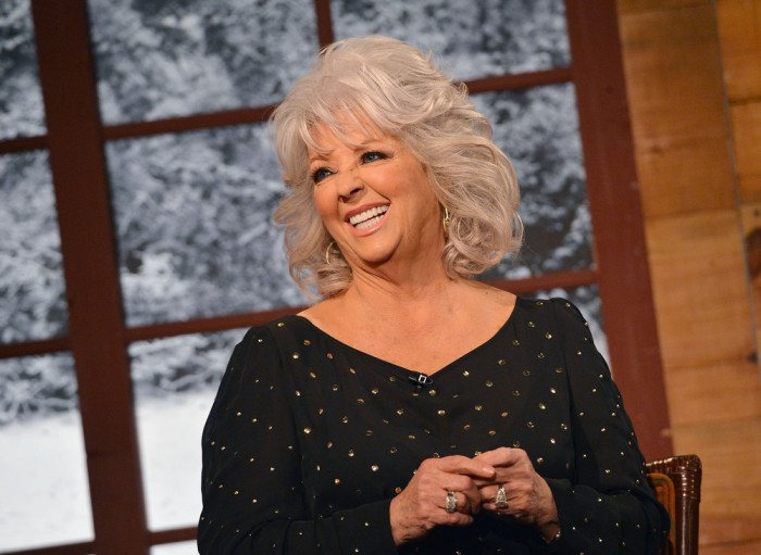 Cooking show host Paula Deen visits Fox & Friends Christmas Special at FOX Studios on December 6, 2012 in New York City.  (Photo by Slaven Vlasic/Gett...