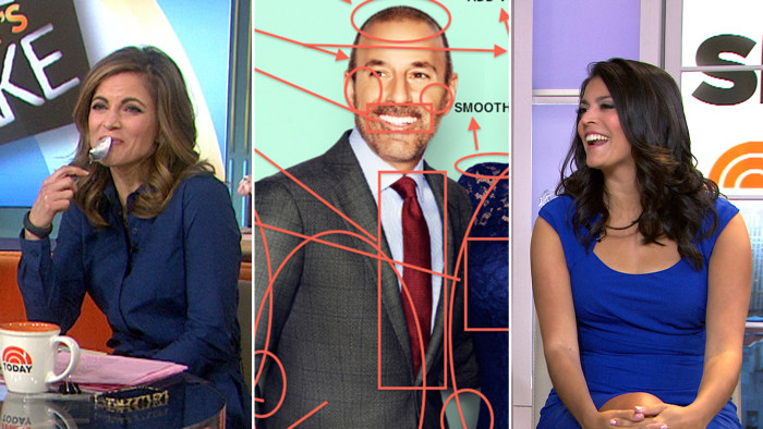 Natalie Morales, Matt Lauer, Cecily Strong