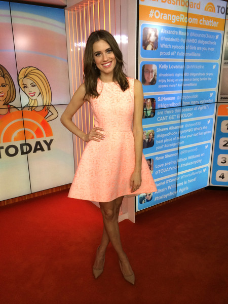 'Girls' star Allison Williams