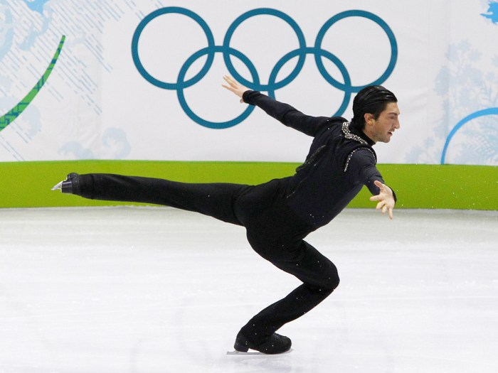 Evan Lysacek hoped to defend his gold medal from the 2010 Olympics in Vancouver, but his doctor told him that he could do permanent damage to his injured hip if he continued to train on it.