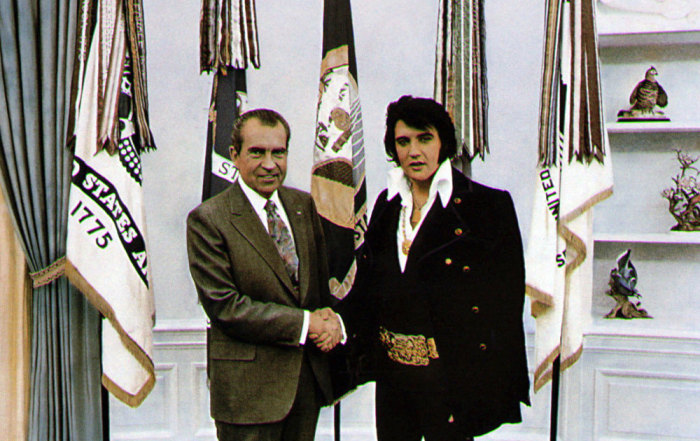 IMAGE: Nixon and Presley