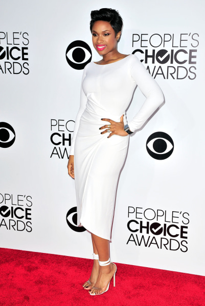 LOS ANGELES, CA - JANUARY 08:  Jennifer Hudson arrives at the 40th Annual People's Choice Awards at Nokia Theatre L.A. Live on January 8, 2014 in Los ...