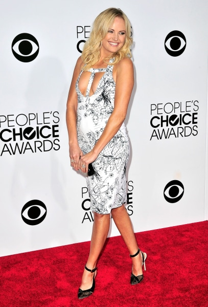 LOS ANGELES, CA - JANUARY 08:  Actress Malin Akerman arrives at the 40th Annual People's Choice Awards at Nokia Theatre L.A. Live on January 8, 2014 i...