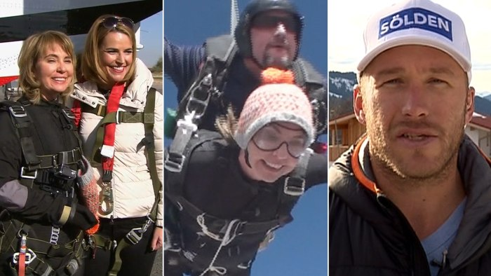 Gabby Giffords marks a milestone and Bode Miller feels his age.