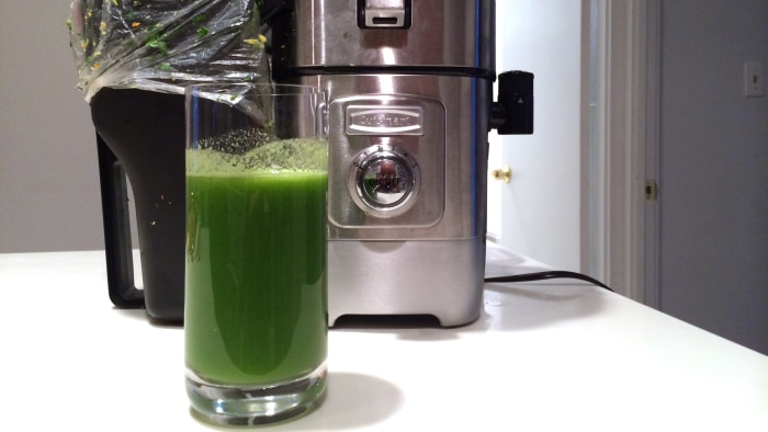 Martha Stewart swears by this green juice in the morning.